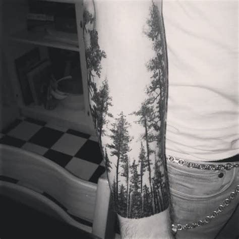 Forest Sleeve Tattoo Designs, Ideas and Meaning | Tattoos
