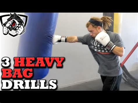 3 Excellent Heavy Bag Drills for MMA, Muay Thai, & Boxing