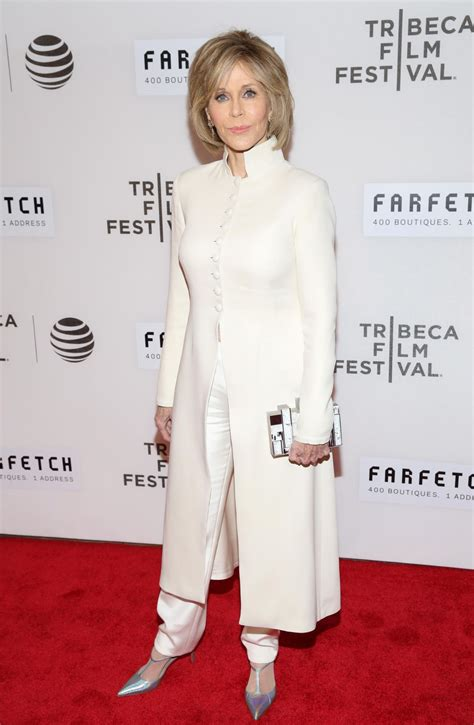 Jane Fonda - 'The First Monday in May' World Premiere