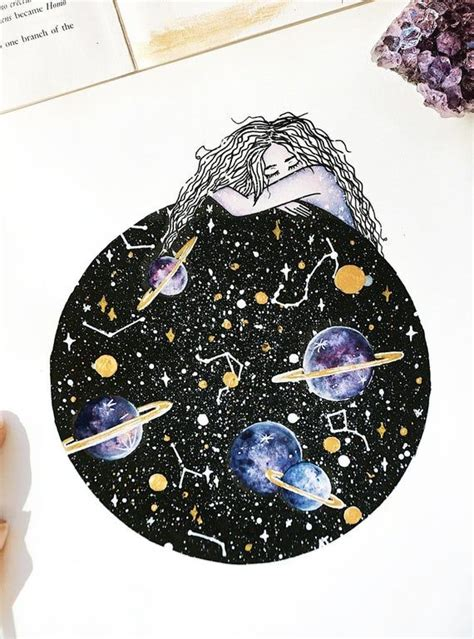 Constellations Within Space Art | Etsy (With images