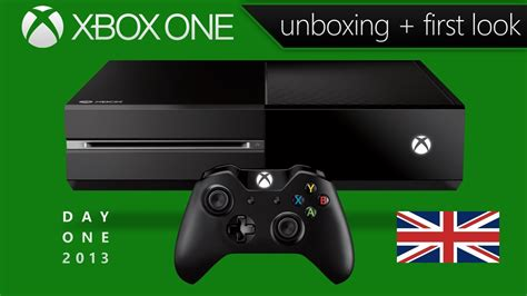 Xbox One Unboxing & First Look (Day One Edition - UK