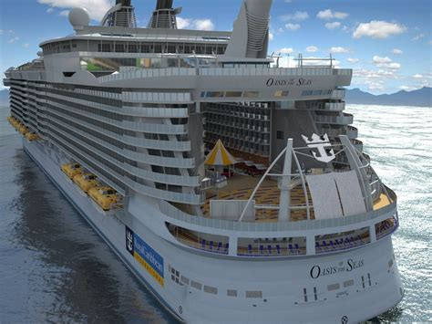 Oasis of the Seas Cruise Ship 3D Model