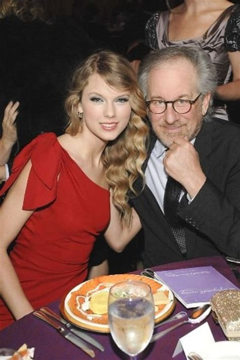 Taylor Swift And Steven Spielberg Like Two Peas In A Pod