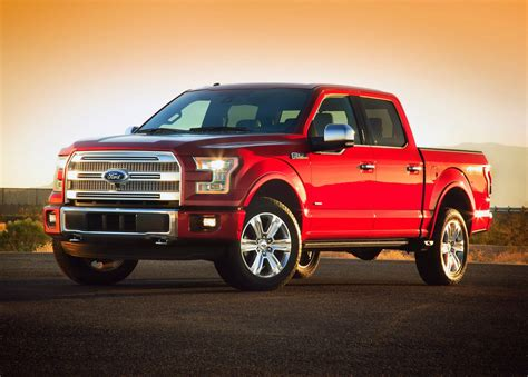 2015 Ford F-150 Pickup Boasts Over 100 New Patents
