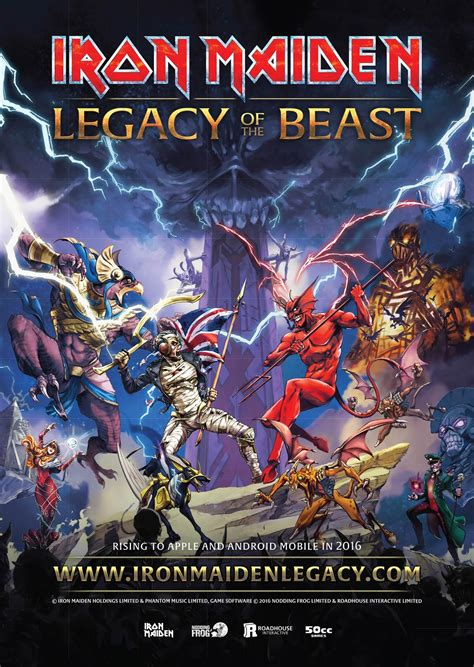 Iron Maiden announces Legacy Of The Beast • GRIMM Gent