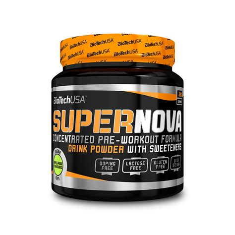 pre workout SuperNova BIOTECH USA Pomme Poire Indisponible