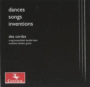 Dances, Songs and Inventions: Chamber Works by Bach