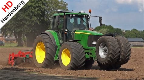 John Deere 6820 | Eggen | Cultivating | Great sound