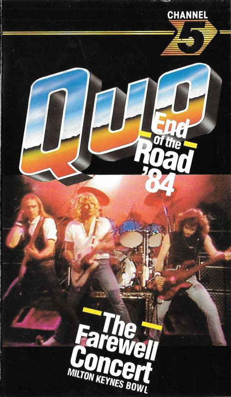 Status Quo - End Of The Road '84 (VHS, Reissue, PAL) | Discogs