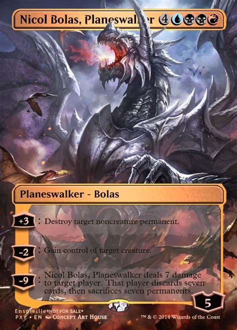 Magic the Gathering - Nicol Bolas, Planeswalker by