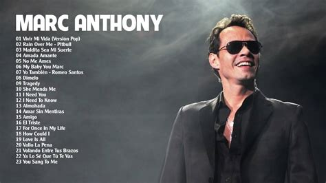 Marc Anthony mix 2015 2016 Mejores exitos1 - YouTube