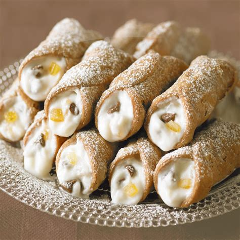 Candied Fruit Ricotta Cannoli - Italy Travel and Life