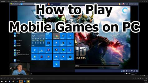 How to Play Mobile Games on PC - YouTube