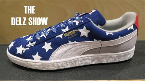 Puma Suede Americana USA Sneaker Detailed Look Review