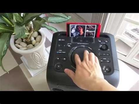 Sony MHC-V11 Bluetooth Sound Test Best hifi - YouTube