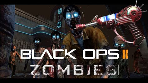 """""""BLACK OPS 2 ZOMBIES"""" Weapons List - ALL Guns & Grenades"""