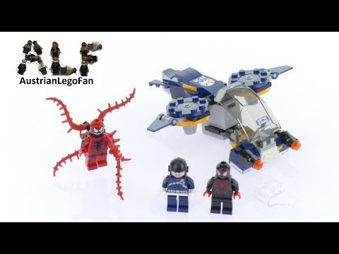 LEGO 76036 Carnage's Shield Sky Attack Instructions LEGO