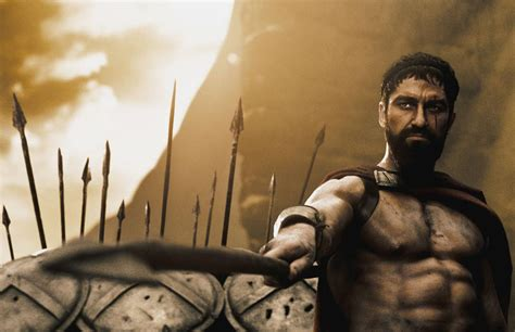 King Leonidas in 300, the movie - Train Body and Mind