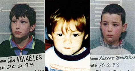 How James Bulger Was Killed By Robert Thompson And Jon