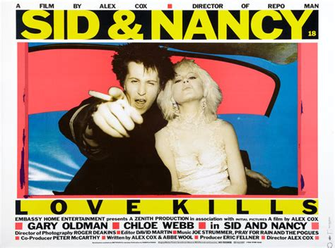 Sid and Nancy Movie Poster (#2 of 5) - IMP Awards