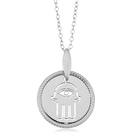 Shop Argento Italia Rhodium Plated Sterling Silver 17-mm