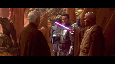 """Mace Windu - """"This party's over"""