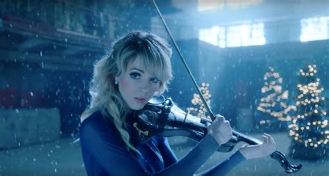 Lindsey Stirling releases music video for 'Carol of the