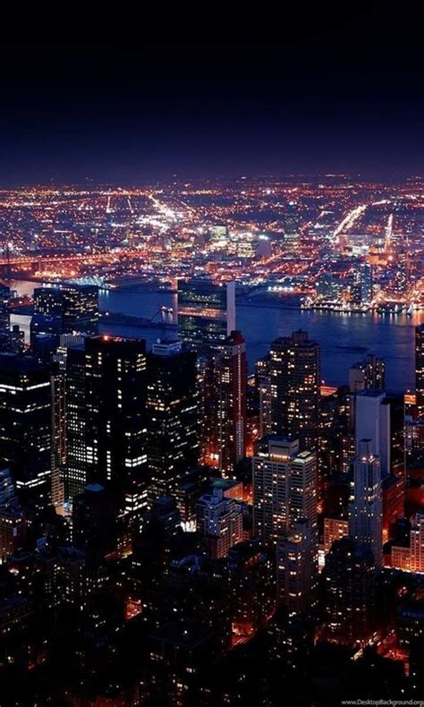 New York City Night View HD Wallpapers For Desktop