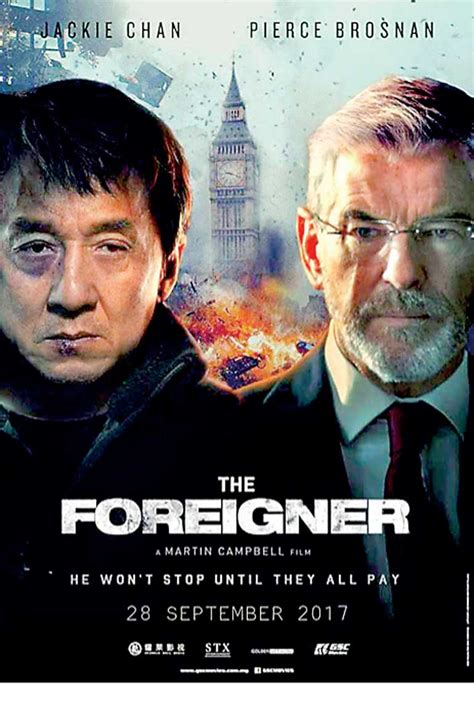 'The Foreigner', starring Jackie Chan as a one-man