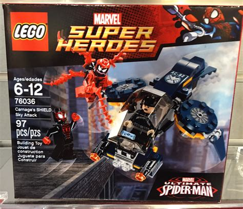 LEGO Marvel Carnage's SHIELD Sky Attack 76036! Toy Fair