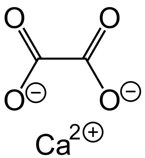 File:Calcium Oxalate Structural Formula V1