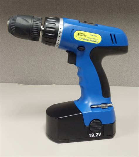 Harbor Freight Tools Recalls Cordless Drill Due to Fire