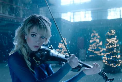 Local high school musicians will join Lindsey Stirling