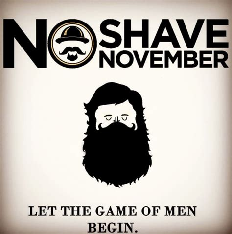 No Shave November Is Here! | What's Trending