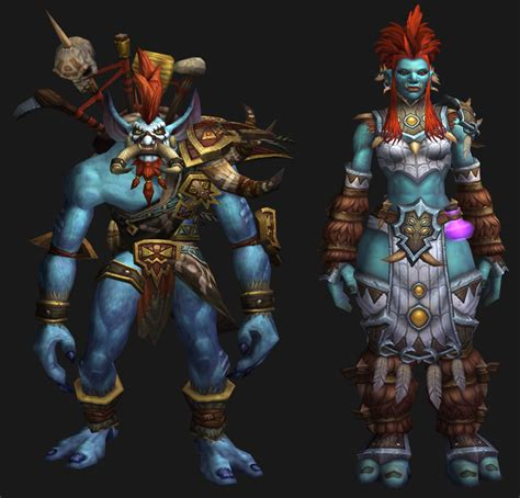 I believe that darkspear trolls do not need to stand