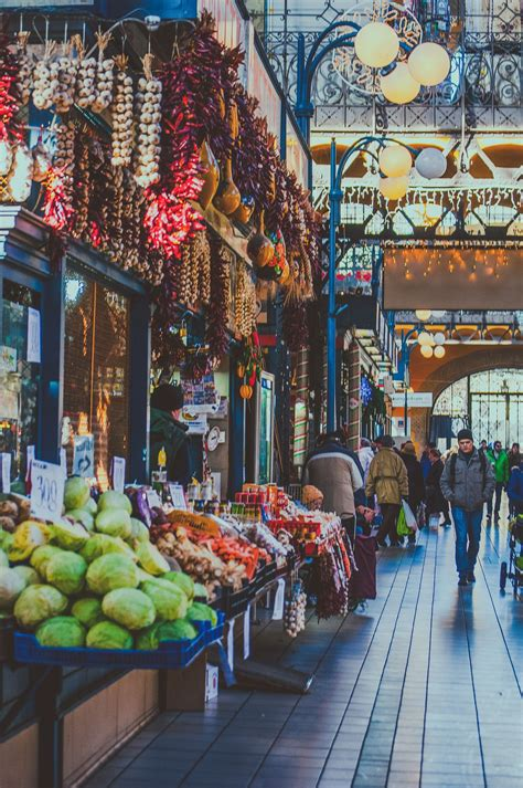 Budapest,The Central Market Hall | Budapest, Places to travel