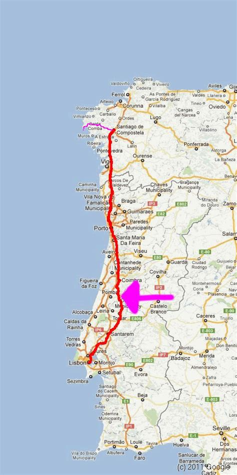 Walking the Camino in Portugal | Judy and Greg walking
