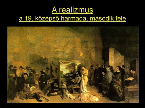 PPT - A realizmus a 19