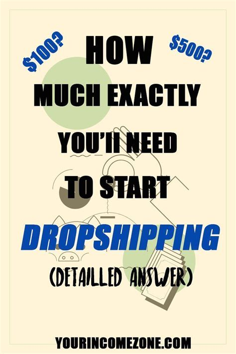 This is the real cost of starting a dropshipping business